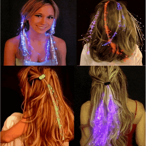 LED Hair Braid