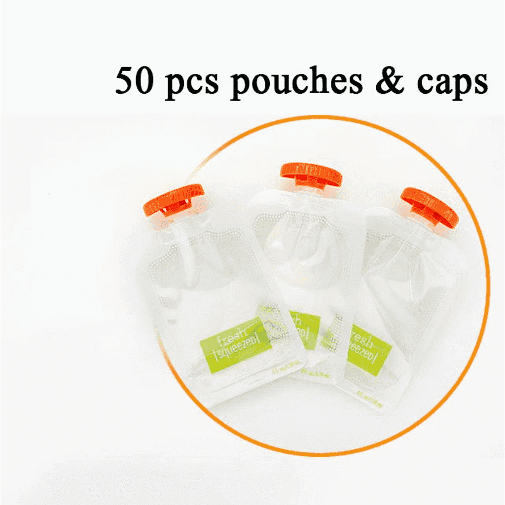 Pack of 50 Extra Pouches