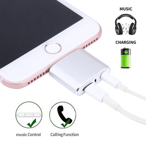 iPhone Charging and Audio Lightening Adapter