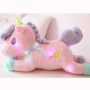 Luminous LED Stuffed Unicorn