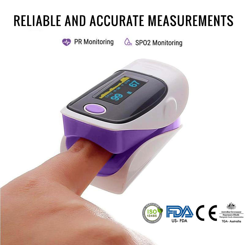 OxyPulse™ Digital Finger Pulse Oximeter  [ NEW 2020 MODEL ] - SALE