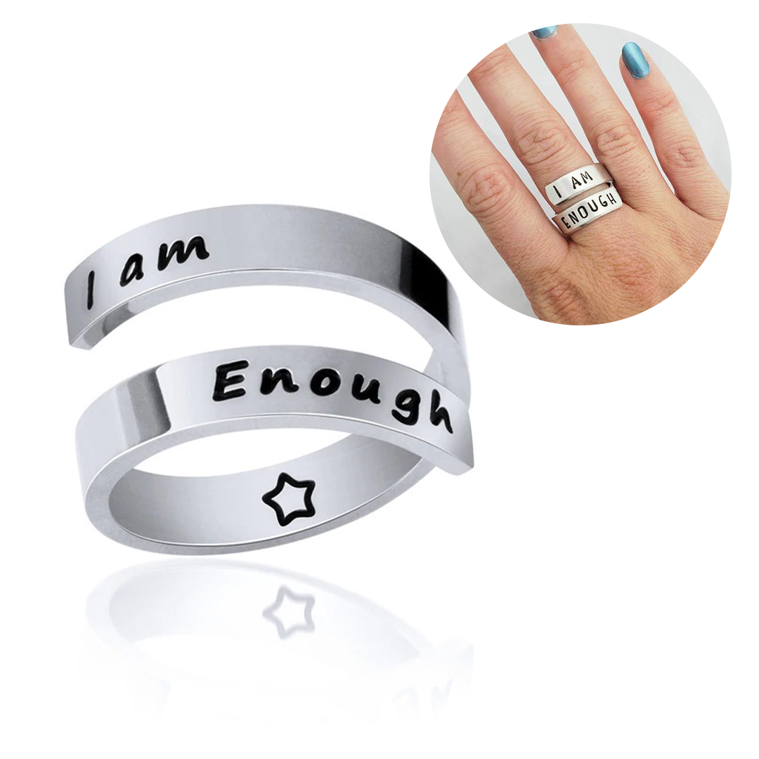 Pretty Bling - I Am Enough Ring