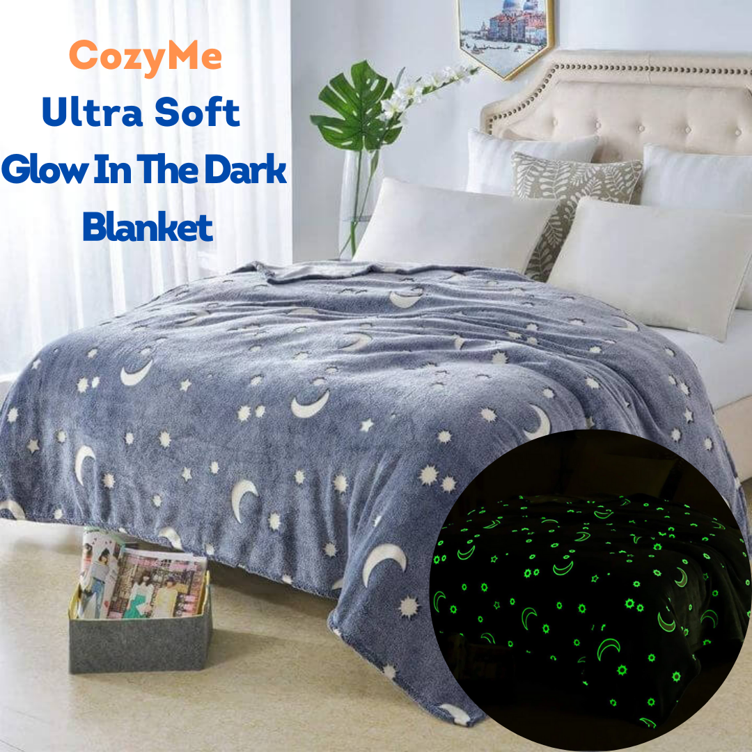 CozyMe - Ultra Soft Glow In The Dark Blanket