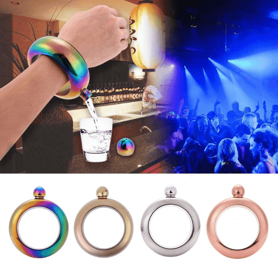 Alcohol Shot Bangle