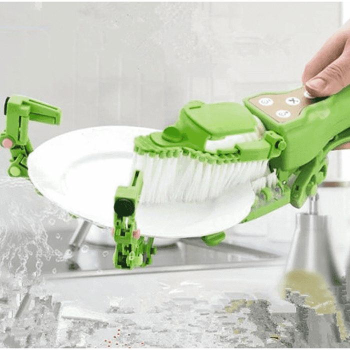 Automatic Dish Brush Scrubber