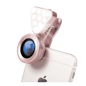 LED Phone Flash Light and Magnifier