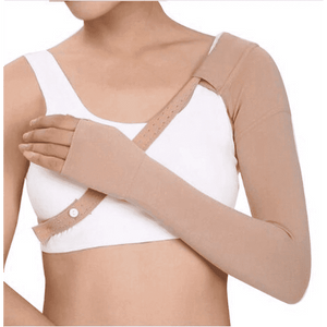 Mastectomy compression sleeve