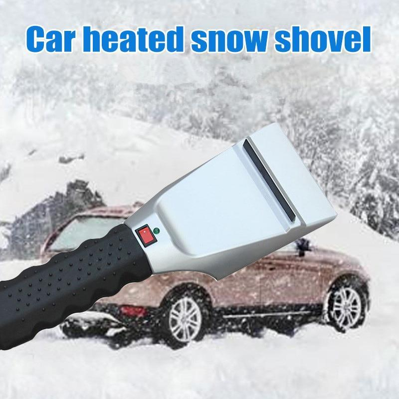 Heated Snow Scraper - HoneyCocoon