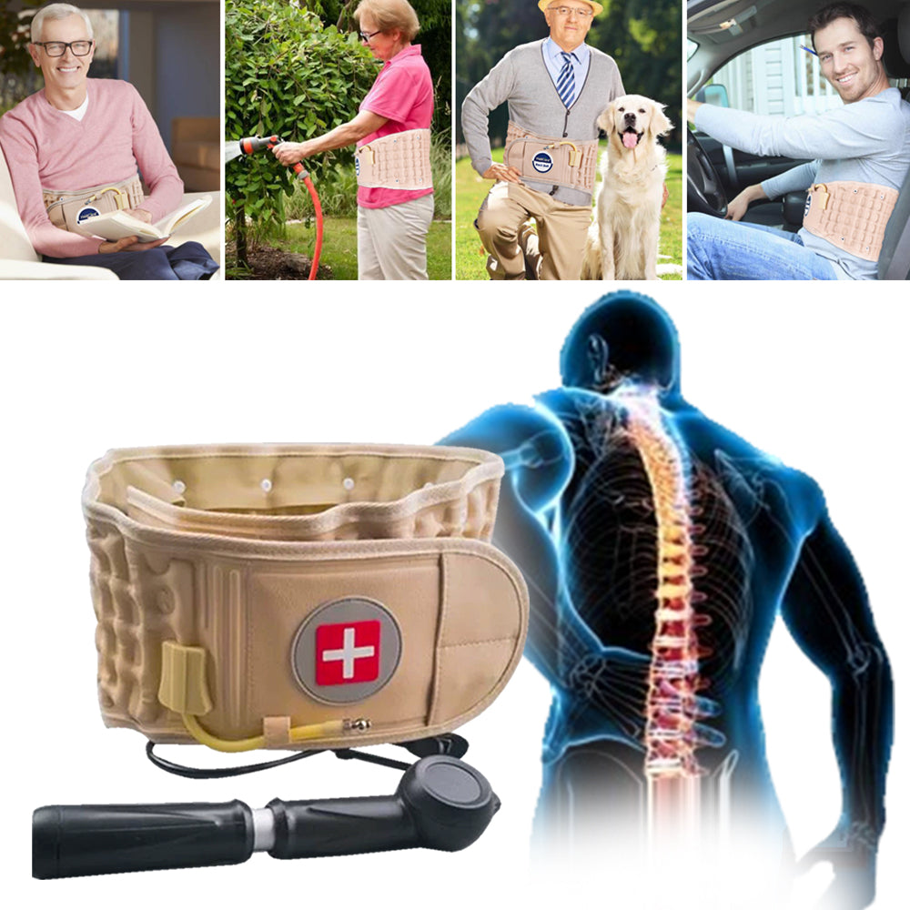 BackRelief™-   Sciatica And Back Pain Reliever Belt