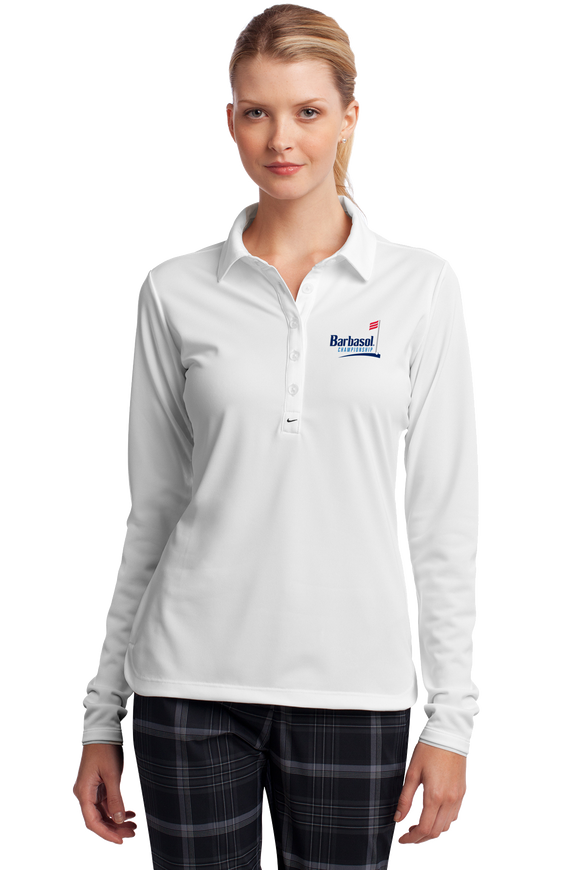 Nike Golf Ladies Long Sleeve Dri-FIT Stretch Tech Polo