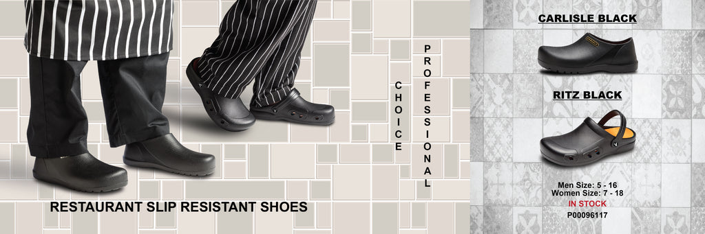 Slip Resistant Clogs from Vangelo Professional Footwear become popular for Chefs