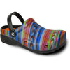 VANGELO Men Slip Resistant Clog RITZ Multi Color-1