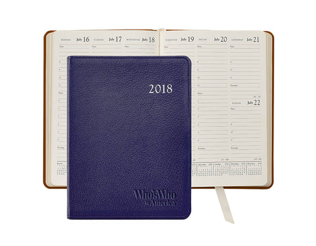 2018 Leather Desk Diary