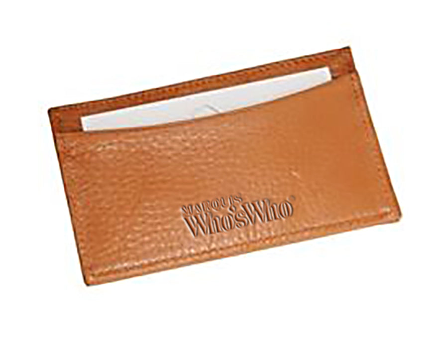 Slim Leather Business Card Case Marquis Ww Luxury