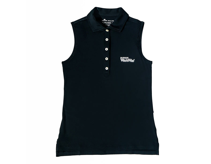 Women's Marquis x Peter Millar Sleeveless Performance Polo