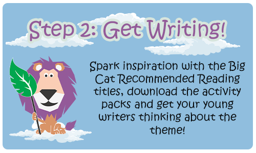 Collins Big Cat Writing Competition Step 2