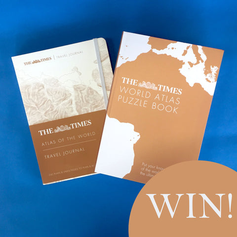 The Times World Atlas Book Bundle Competition