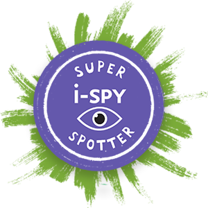 i-SPY badge