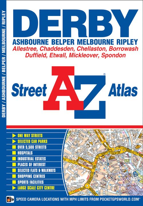 Derby A-Z Street Atlas