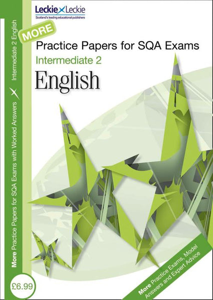 More Intermediate 2 English Practice Papers for SQA Exams PDF only version