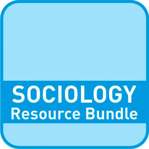 Sociology Resource Bundles - Sociology Resource Bundles – Education: Paid for download edition