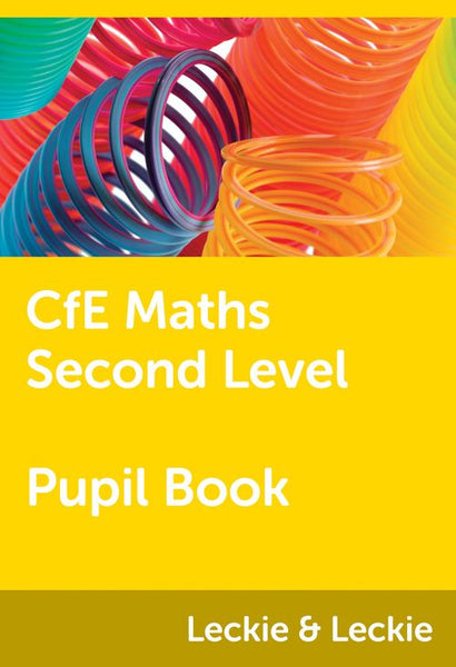 CfE Maths - CfE Maths Second Level Pupil Book : Powered by Collins Connect, 1 year licence