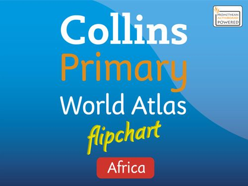 Collins Primary Atlases - Collins Primary Atlas Africa Flipchart:Download for use with Promethean software edition