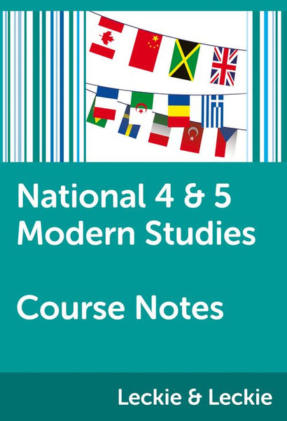 Course Notes for SQA Exams - National 4/5 Modern Studies Course Notes: Powered by Collins Connect, 1 year licence (Course Notes for SQA Exams)