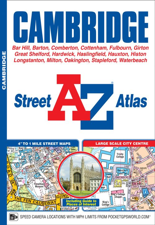 Cambridge A-Z Street Atlas