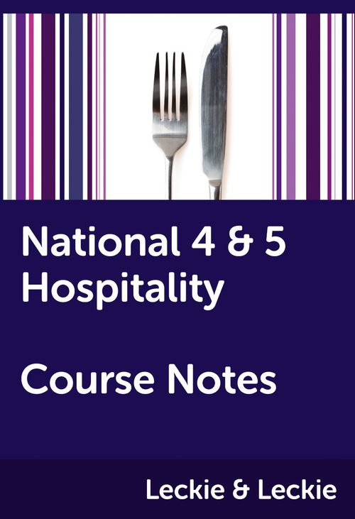Course Notes for SQA Exams - National 4/5 Hospitality Course Notes: Powered by Collins Connect, 1 year licence (Course Notes for SQA Exams)