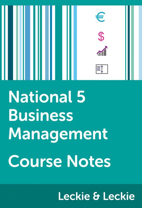 Course Notes for SQA Exams - National 5 Business Management Course Notes: Powered by Collins Connect, 1 year licence (Course Notes for SQA Exams)