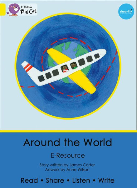 Collins Big Cat eResources - Around the World : Yellow/Band 03