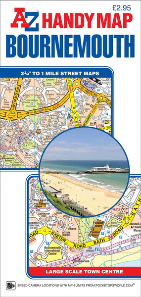Bournemouth A-Z Handy Map