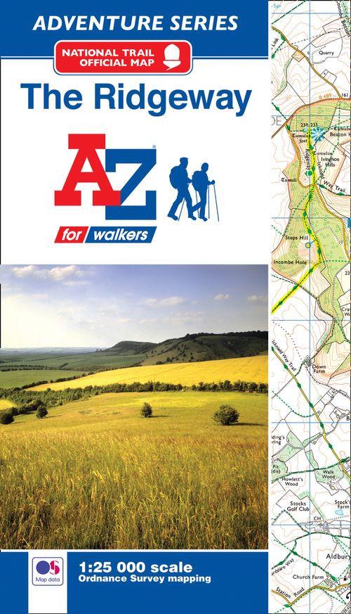 The Ridgeway A-Z Adventure Atlas