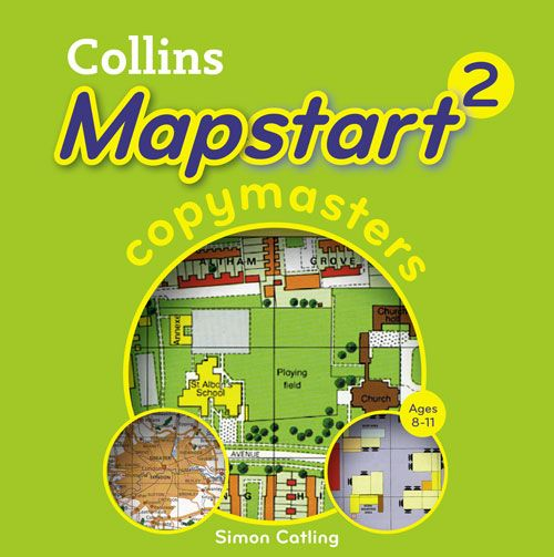 Collins Primary Atlases - Collins Mapstart 2 Copymasters:School edition