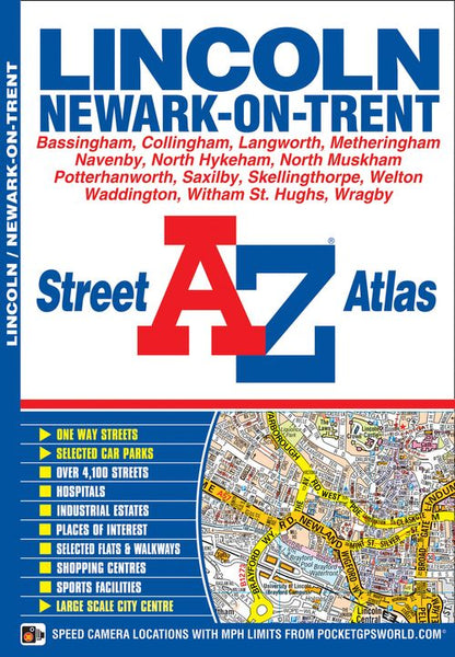 Lincoln A-Z Street Atlas