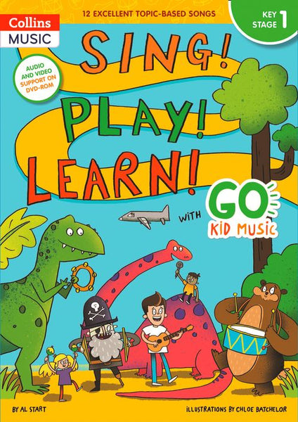 Go Kid Music - Sing! Play! Learn! with Go Kid Music - Key Stage 1