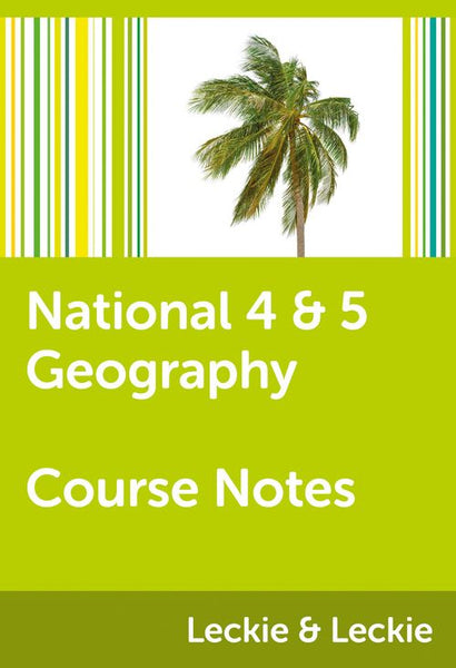 Course Notes for SQA Exams - National 4/5 Geography Course Notes: Powered by Collins Connect, 1 year licence (Course Notes for SQA Exams)