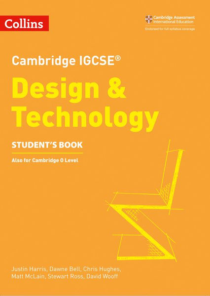 Collins Cambridge IGCSE™ - Cambridge IGCSE™ Design and Technology: Powered by Collins Connect, 1 year licence (Collins Cambridge IGCSE™): Second edition