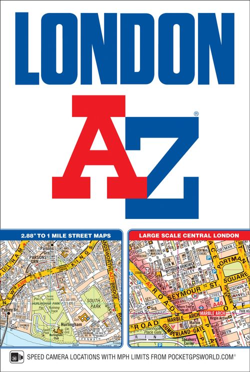 London A-Z Street Atlas (paperback)