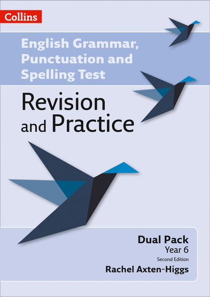 English Grammar, Punctuation and Spelling Test Revision and Practice - Key Stage 2: Dual Pack:Second edition