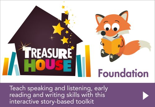 Treasure House - Foundation: Powered by Collins Connect, 3 year licence (Treasure House)