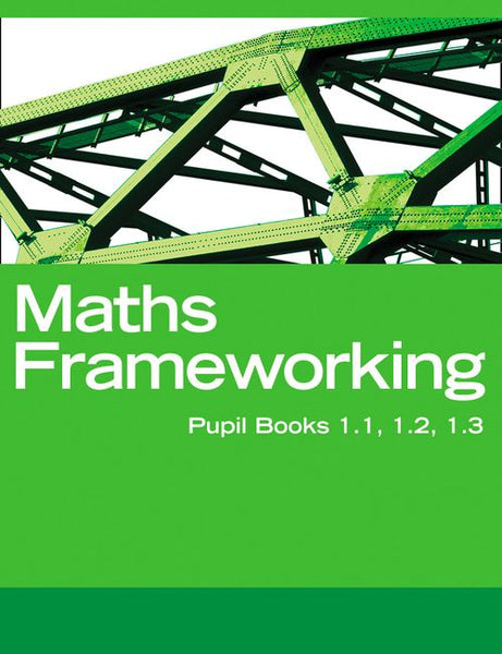 Maths Frameworking - KS3 Maths Interactive Book, Homework and Assessment Pack 1: Powered by Collins Connect, 1 year licence (Maths Frameworking)