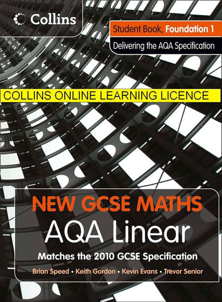New GCSE Maths - AQA Linear Foundation 1