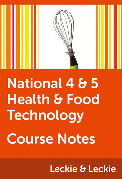 Course Notes for SQA Exams - National 4/5 Health and Food Technology Course Notes: Powered by Collins Connect, 1 year licence (Course Notes for SQA Exams)