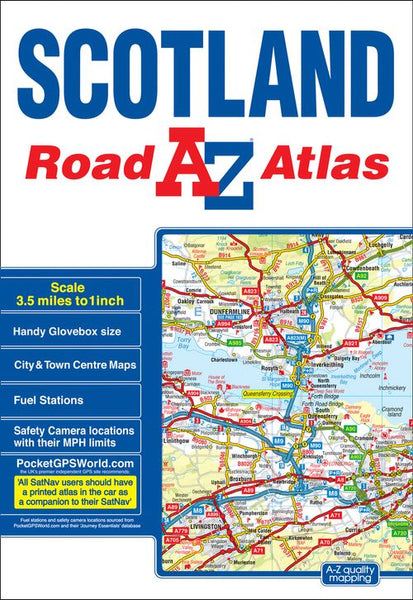 Scotland A-Z Road Atlas