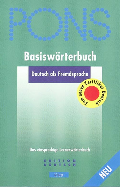 German Monolingual : Basiswörterbuch