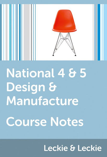 Course Notes for SQA Exams - National 4/5 Design and Manufacture Course Notes: Powered by Collins Connect, 1 year licence (Course Notes for SQA Exams)
