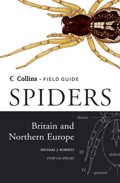 Collins Field Guide - Spiders of Britain and Northern Europe