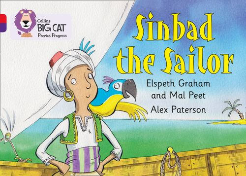 Collins Big Cat Phonics Progress - Sinbad the Sailor : Band 02A Red A/Band 08 Purple